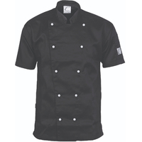 TRADITIONAL CHEF JACKET - SHORT SLEEVE