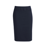 COMFORT WOOL STRETCH RELAXED FIT LINED SKIRT