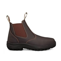 26-626 OLIVER CLARET ELASTIC SIDED BOOTS