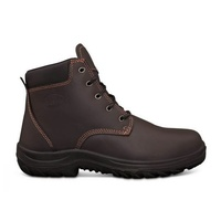 26-636 OLIVER CLARET LACE-UP BOOTS