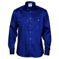 PATRON SAINT FLAME RETARDANT DRILL SHIRT, LONG SLEEVE