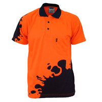 HIVIS SUBLIMATED BLOT POLO