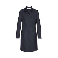 CAVALRY TWILL LADIES LINED OVERCOAT