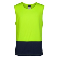 JB's HI VIS MUSCLE TOP