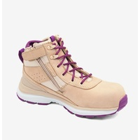 885 TPU WOMENS ZIP SIDE ANKLE SAFETY BOOTS