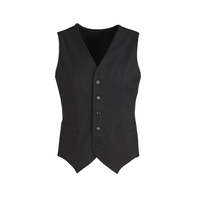 COOL STRETCH MENS PEAKED VEST W/KNITTED BACK