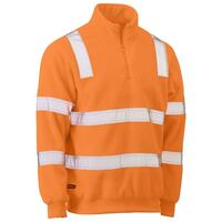 TAPED HI VIS RAIL POLAR FLEECE JUMPER