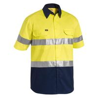3M TAPED COOL LIGHTWEIGHT HI VIS SHIRT SHORT SLEEVE