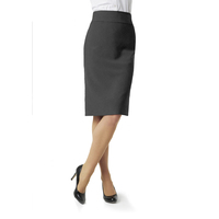 LADIES P/V RELAXED FIT BELOW KNEE SKIRT