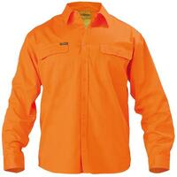 HI VIS DRILL SHIRT LONG SLEEVE