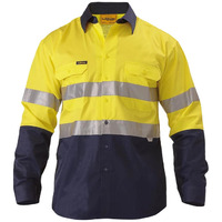 3M TAPED COOL LIGHTWEIGHT HI VIS SHIRT LONG SLEEVE
