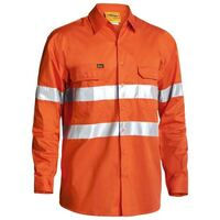 3M TAPED COOL LIGHTWEIGHT HI VIS DRILL SHIRT LONG SLEEVE