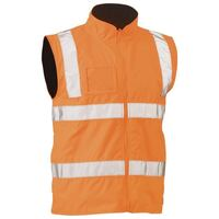 TAPED HI VIS RAIL WET WEATHER VEST