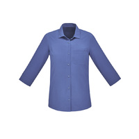 FLORENCE WOMENS PLAIN 3/4 SLEEVE SHIRT