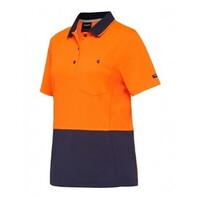 WOMENS WORKCOOL HYPERFREEZE SPLICED S/S POLO