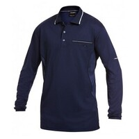 WORKCOOL LONG SLEEVE POLO