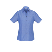 LADIES S/S WRINKLE FREE SHIRT