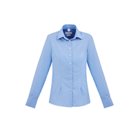 REGENT LADIES 100% COTTON L/S SHIRT